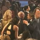 Jerry Hall and Rupert Murdoch attending the last ever final of American Idol