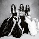 Alessandra Ambrosio, Adriana Lima, Elsa Hosk, Lily Aldridge, Candice Swanepoel - Vogue Magazine Pictorial [United Kingdom] (November 2014)