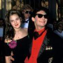 Corey Feldman and Drew Barrymore, Academy Awards 29th April 1989