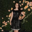 Lily Collins attended the Chanel intimate dinner at the Chanel boutique on Robertson Blvd. on October 27, in Los Angeles