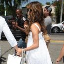 Eva Longoria Parker Leaving Ken Paves Salon May 21 2008