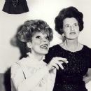 Carol Channing and Rose Kennedy Back Stage In HELLO,DOLLY! - 454 x 362