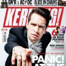 Brendon Urie - Kerrang Magazine Cover [United Kingdom] (15 August 2018)