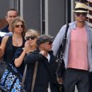 Fergie and Josh Duhamel Arriving St. Barts December 30, 2010