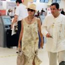 Halle Berry: at the airport in Cabo San Lucas