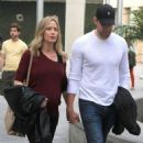 Emily Blunt and husband John Krasinski out for a movie date at the Arclight Cinemas in Hollywood, California on January 4, 2014 - 454 x 533