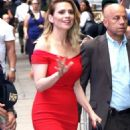Hayley Atwell – Arrives at 'Good Morning America' in New York