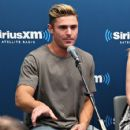 Zac Efron at SiriusXM's 'Town Hall' with the cast of 'Neighbors 2' at SiriusXM Studios on May 18, 2016 in New York, New York - 425 x 600