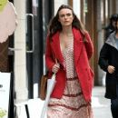 Keira Knightley film scenes for the upcoming movie 'Collateral Beauty' in New York City, New York on April 1, 2016 - 383 x 600