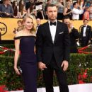 Naomi Watts and Liev Schreiber At The 21st Annual Screen Actors Guild Awards - Arrivals (2015) - 418 x 600
