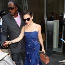 Alyssa Milano – Leaves her hotel in New York City - 454 x 460