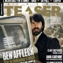 Ben Affleck - Cinema Teaser Magazine Cover [France] (November 2012)