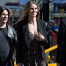 Heidi Klum spotted on the set of 'Ocean's Eight' in Los Angeles, California on March 6, 2017 - 423 x 600
