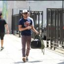 Zac Efron was spotted out and about in Los Angeles yesterday, June 11