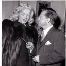 Mickey Rooney and Marilyn Monroe