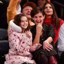 Katie Holmes – Oklahoma City Thunder vs New York Knicks game in NY - 454 x 546