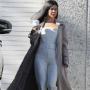 Kourtney Kardashian – Leaving Kanye West's Studio in Los Angeles