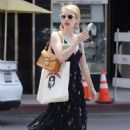 Emma Roberts – Arriving for breakfast in Beverly Hills