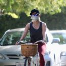 Reese Witherspoon – On a bike ride in Brentwood
