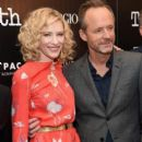 Cate Blanchett and John Benjamin Hickey