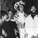 Davy Jones, Phyllis Nesmith, Mike Nesmith, and Peter