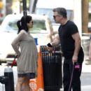 Alec Baldwin and Wife Hilaria Fighting Photo #4