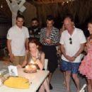 Lindsay Lohan – Celebrates her birthday in Mykonos