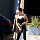 Jenna Dewan in Spandex – Leaves Urth Caffe in West Hollywood