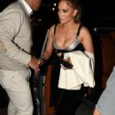 Jennifer Lopez – Arrives at Casa Tua Restaurant in Miami