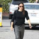 Jennifer Garner – Arrives for Sunday church services in the Pacific Palisades