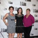Christine Fry, Finola Hughes, Annie Dahlgren at Le Femme Film Festival