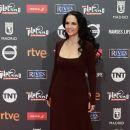 Sonia Braga- Platino Awards 2017- Red Carpet - 390 x 600