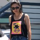 Mila Kunis in Jeans – Hits the nail salon in Los Angeles