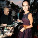 Camilla Belle: arrives at Cotton 24 Hour Runway Show in Miami Beach