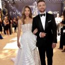 Justin Timberlake and Jessica Biel : 70th Emmy Awards - 454 x 566