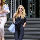 Rosie Huntington Whiteley leaving Marks and Spencer HQ in NYC (August 20)