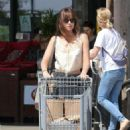 Dakota Johnson – Shopping at Vintage Grocers in Malibu