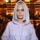 Cara Delevigne attends FENTY PUMA Fall / Winter 2017 Collection at Bibliotheque Nationale de France on March 6, 2017 in Paris, France