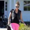 Jessica Alba: Busy Day In LA