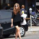 Selma Blair in Black Shorts – Shopping in Los Angeles - 454 x 555