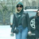 Ashley Benson  – Leaving Her Apartment in NYC