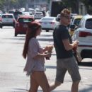 Ariel Winter and Levi Meaden out in Studio City