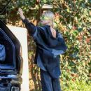 Hailey and Justin Bieber – Leaving a park in Beverly Hills