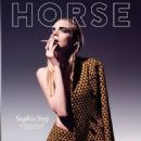 SOPHIE SREJ BY MICHAEL MUNIQUE ON THE COVER OF HORSE MAGAZINE SS13