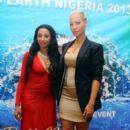 Amber Rose, Boris Kodjoe, and Karlie Redd at the Miss Earth Nigeria 2013 Finale in Lagos, Nigeria - September 23, 2013 - 399 x 600