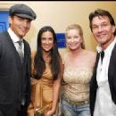 Ashton Kutcher, Demi Moore, Lisa Niemi, Patrick Swayze - 454 x 320