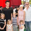 Tori Spelling and her family attending at various events through the years - 454 x 340