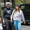 Ashley Greene has lunch with her husband Paul Khoury in Beverly Hills