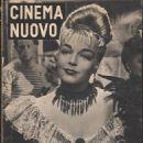 Simone Signoret - Cinema Nuovo Magazine Cover [Italy] (15 May 1953)
