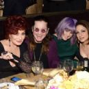 Ozzy Osbourne and his family attend the 56th pre Grammy gala on January 25th, 2014 - 454 x 333